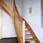 Dřevěné schodiště Klobuky RD